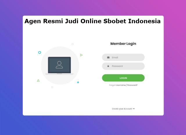 Cara login judi online Sbobet Indonesia